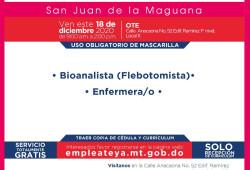 Ministerio de Trabajo invita proceso de reclutamiento en Azúa, Baní, Barahona, y San Juan de la Maguana