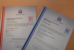 Ministerio de Trabajo recibe certificaciones NORTIC E1: 2018 y A2- 2016