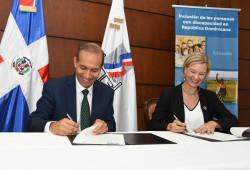 Ministerio de Trabajo y el Programa de las Naciones Unidas para el Desarrollo firman Memorando de entendimiento