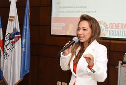 """Ministerio de Trabajo imparte conferencia en el marco del """"Día Internacional de la Eliminación de la Violencia contra la Mujer"""""""