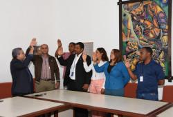Ministerio de Trabajo jumenta nueva directiva de la Asociación de Servidores Públicos
