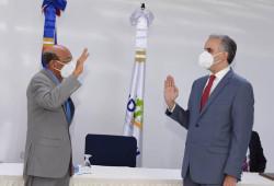 Ministro de Trabajo juramenta nuevo director ejecutivo del IDOPPRIL