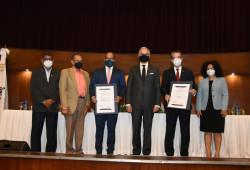 Ministro de Trabajo certificó 379 empresas en conmemoración del Día Mundial de la Seguridad y la Salud en el trabajo.