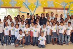 """Ministerio de Trabajo inicia """"Campamento de Verano 2013"""" a hijos de empleados"""