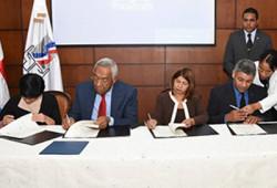 Ministerio de Trabajo firma convenio interinstitucional en beneficio de personas con alguna discapacidad